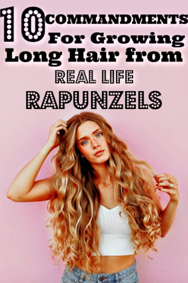 Secrets on How To Grow Hair Fast From Real Life Rapunzels