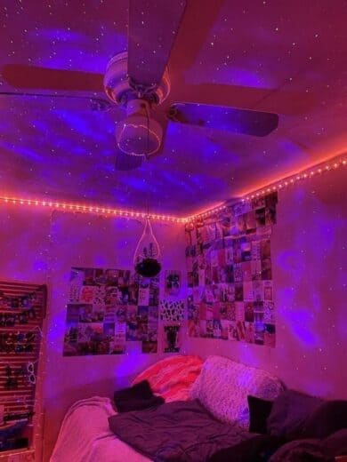 Teen Vibe room led galaxy lights