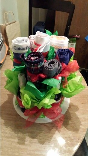 Underwear Man Bouquet/ Valentine's / DIY boyfriend gifts
