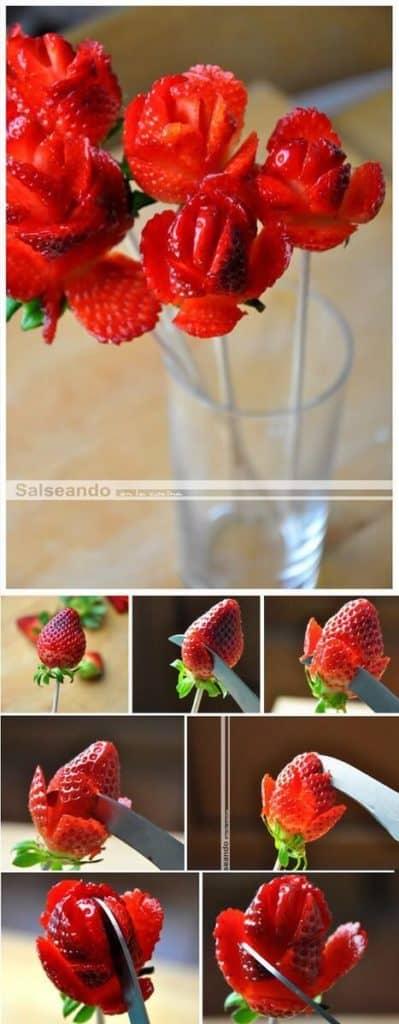 Strawberry Bouquet. Valentine's Day DIY Boyfriend Gifts