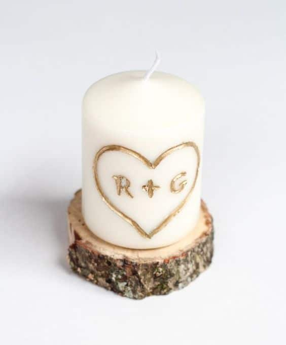 Easy DIY Valentine's Candle Gift/ The best DIY Valentine's Day Gift Guide/ DIY boyfriend gifts