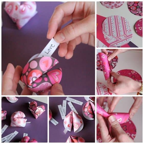 DIY Fortune Cookie Valentine's Day Idea/ The Ultimate DIY Guide to Valentine's Day/ DIY boyfriend gifts