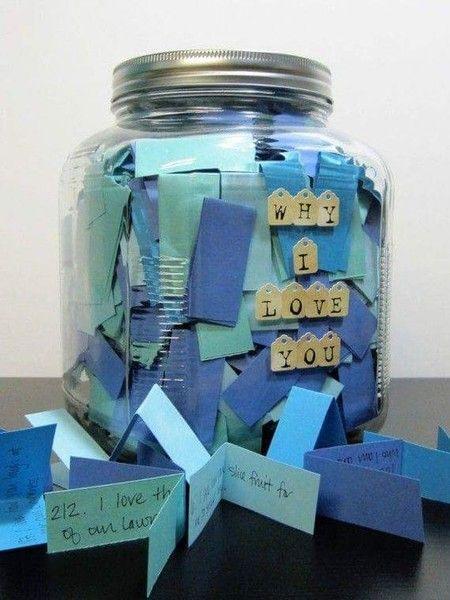 Jar of Love Tickets/ Valentine's DIY boyfriend gifts