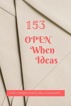153 Open When Ideas/ The best DIY gift ideas for him DIY boyfriend gifts