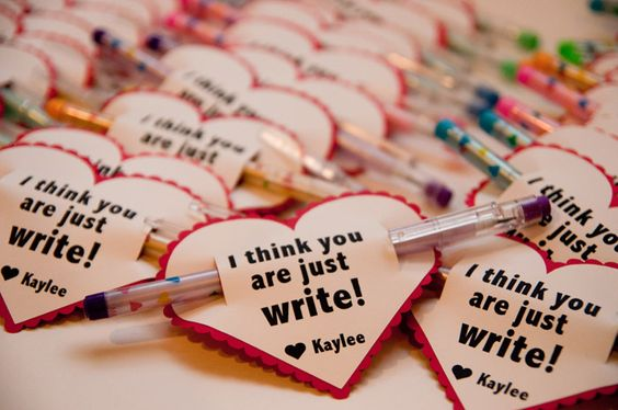 Valentine's Day Pen Pun Gift/ The best DIY Valentine's Day gifts