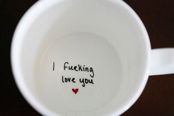 Valentine's Day Surprise Mug/ DIY boyfriend gifts