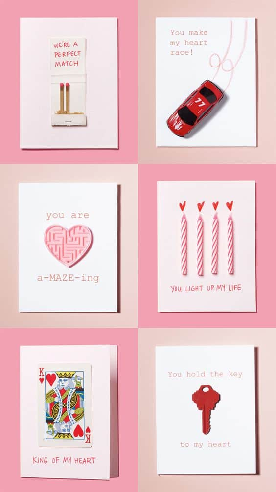 Pun ideas for cards/ DIY boyfriend gifts