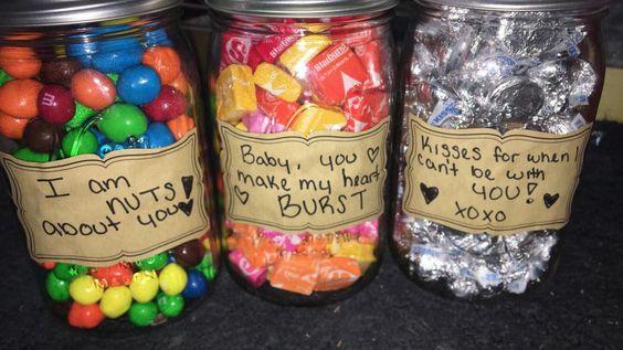 Candy pun gift idea/ DIY boyfriend gifts