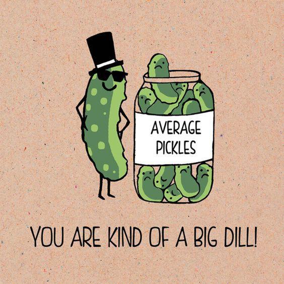Pickle Pun/ DIY boyfriend gifts