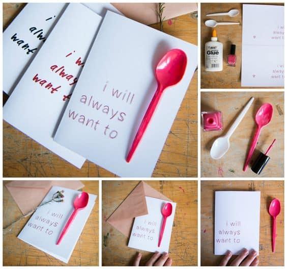 Spoon pun/ DIY boyfriend gifts