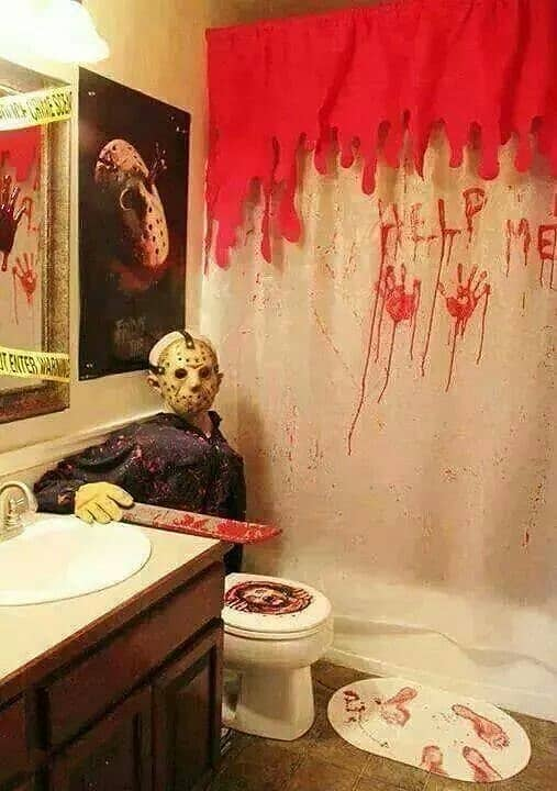 Halloween Bathroom Decorations That'll Scare The Crap Out ...
