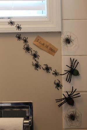 The best Halloween Bathroom Decorations that will scare the crap out of them