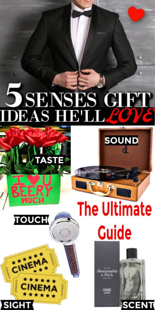 The ultimate guide of gifts they'll use/ 5 senses gifts/ valentine's day gifts