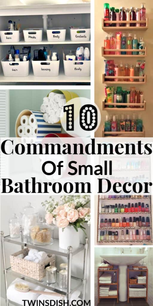 The best easy DIY small Bathroom decor ideas on a budget for apartments