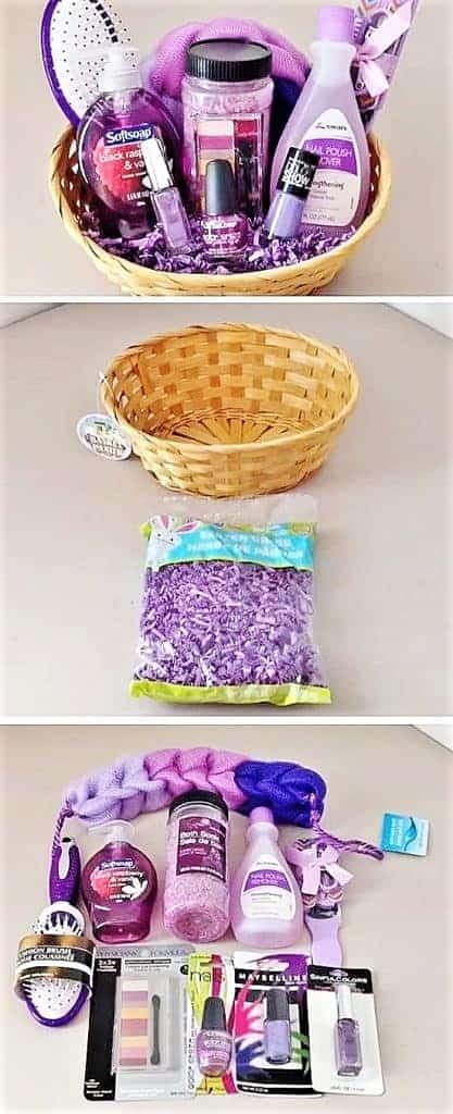 Beauty Dollar Store Gift Basket
