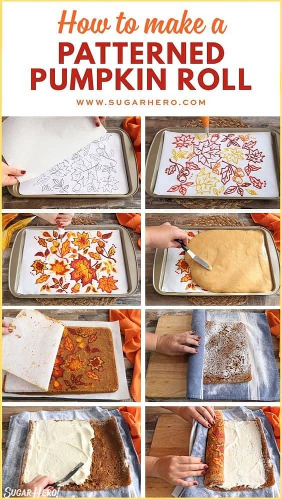 Best Patterned Pumpkin Roll Recipe