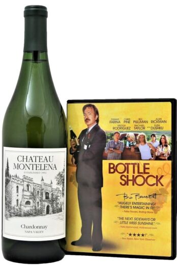 Movie Night Wine Gift basket Idea