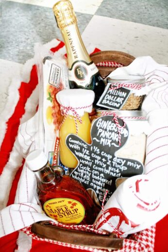 BreakFast Gift basket Idea