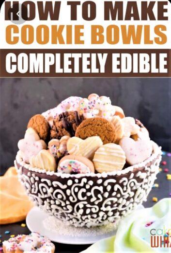 Edbible Chocolate Cookie Bowl Gift Basket Idea