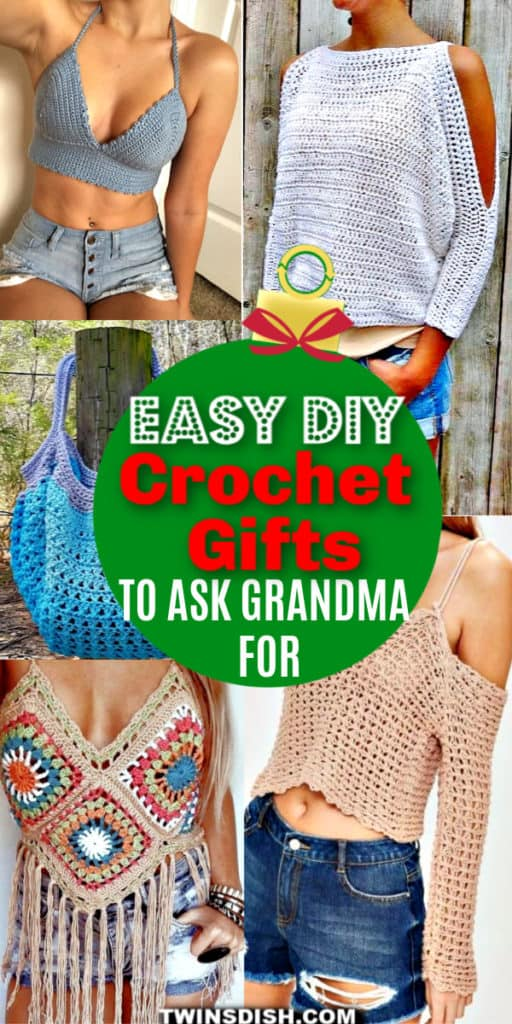 DIY Crochet Gifts Everyone Will Love. Includes patterns.