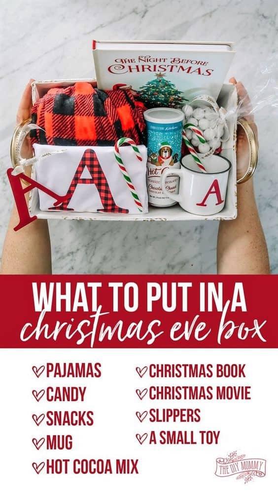 Christmas Eve Box Gift idea