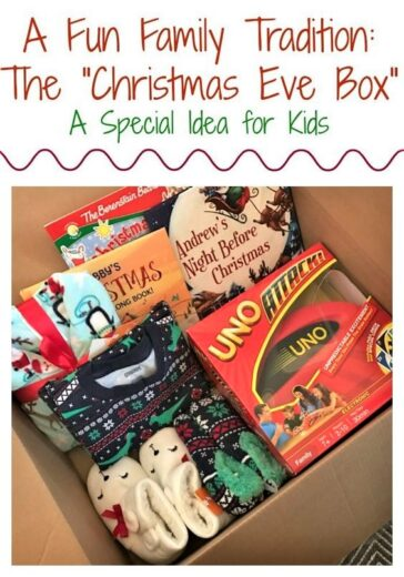 Christmas Eve in a Box Family Gift Idea