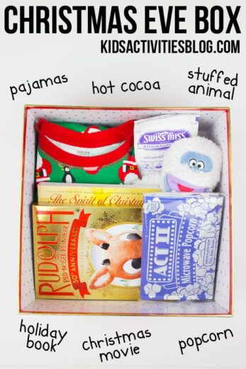Christmas Eve in a Box Kids Gift Idea