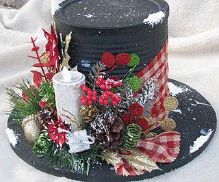 DIY Top Hat Gift Basket Idea