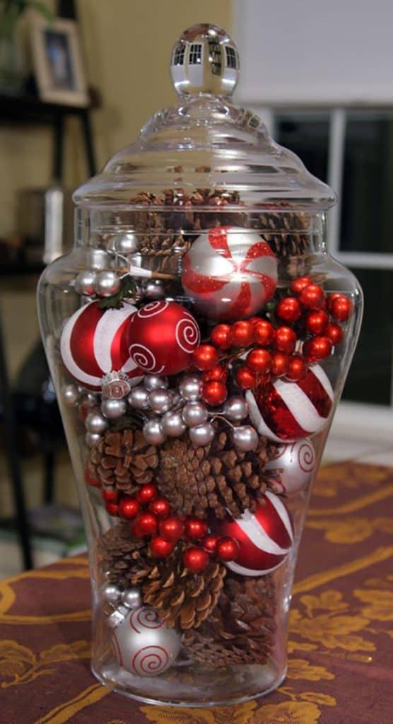 Christmas Vase/ Easy DIY Christmas Decorations