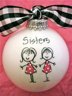 Easy DIY Christmas Ornaments kids can make. Adorable keepsake crafts that make great DIY gift ideas for sister, Mom, Grandma, Grandpa, or your bestie.