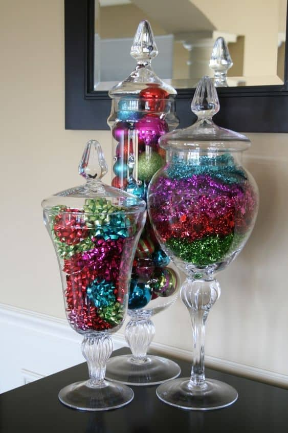 Jars Filled With Christmas/ Easy DIY Christmas Decorations