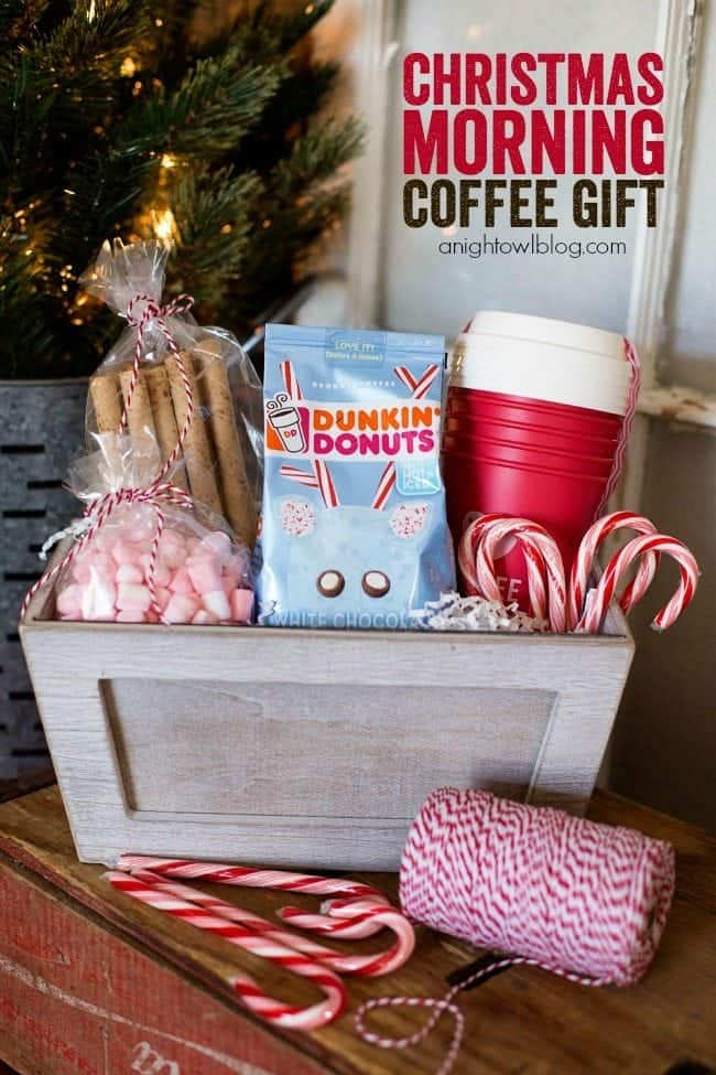Coffee Addicts gift basket