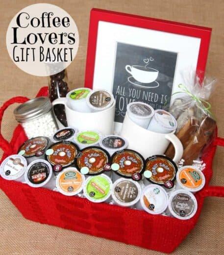 Keurig Coffee Gift basket