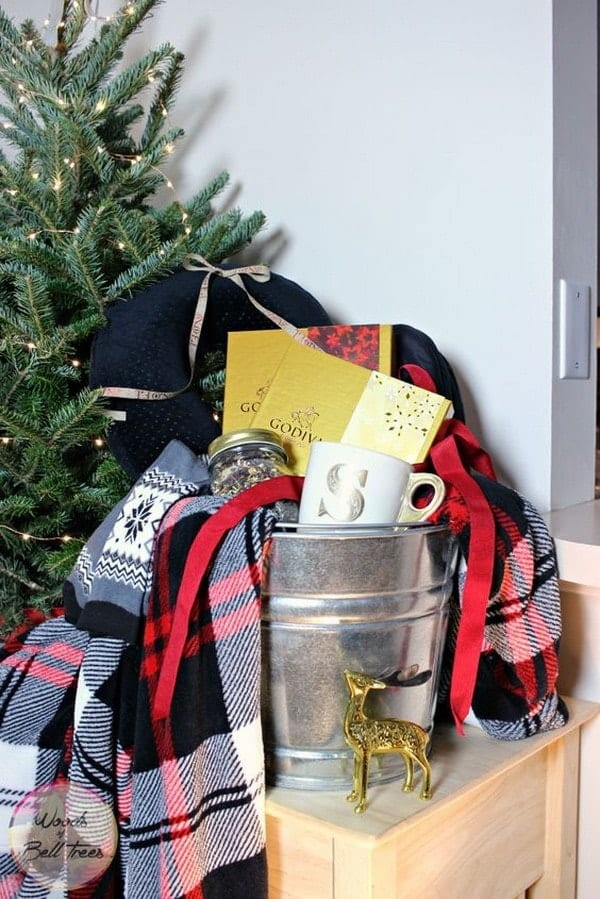 Cozy Gift Basket Idea