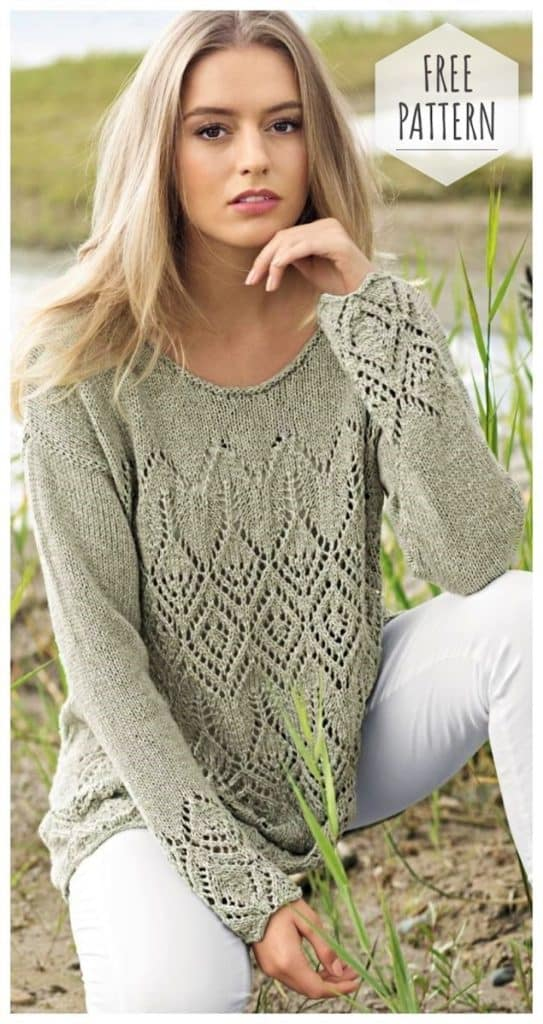 DIY Crochet Boho Sweater with free tutorial and pattern. Trendy outfit for Spring or Summer. Also a great gift idea. The best free crotchet patterns and tutorials.