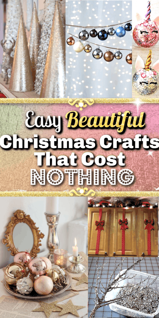 Easy DIY Christmas Craft Decorations