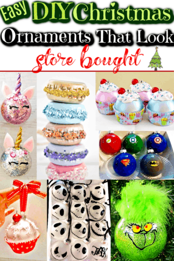 DIY Christmas Ornaments That Look Store Bought/ DIY Christmas Gifts