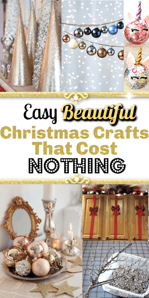Easy Christmas Crafts That Cost Nothing and Make Your Home Look Amazing / Christmas Decorations / Home Decor ideas / Budget