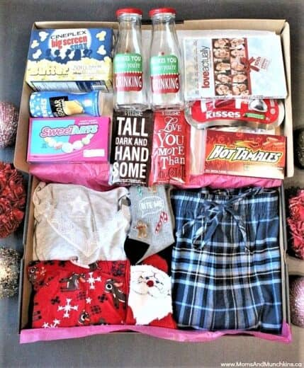 Date Night Before Christmas Gift in a Box