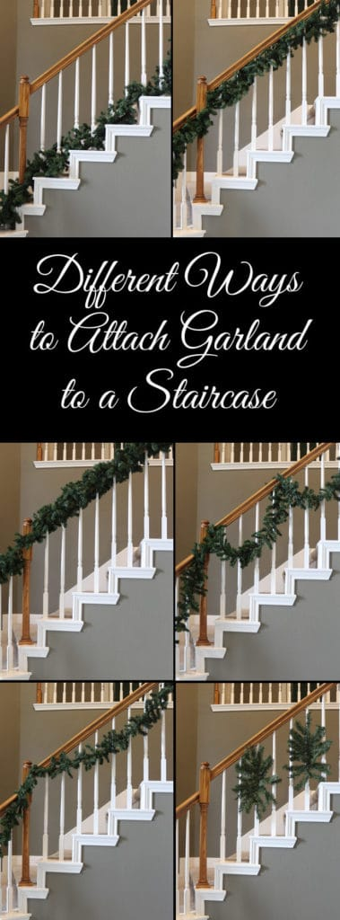 Easy Ways To Decorate Your Home For Christmas Garland Banister