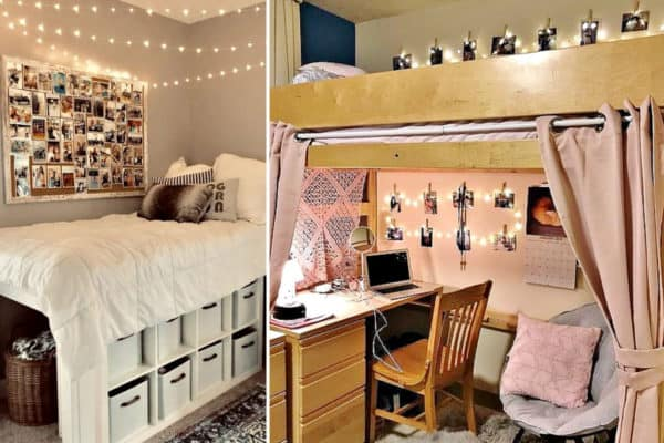 Dorm room tips on what not to do. #College #CollegeDorm #Dorm #Dormroom