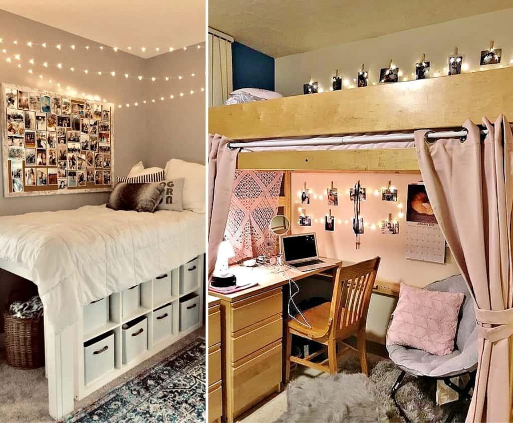 Dorm room tips on what not to do. #College #CollegeDorm #Dorm #Dormroom