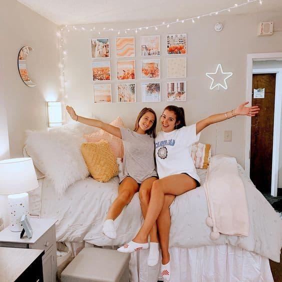 Trendy Dorm Room