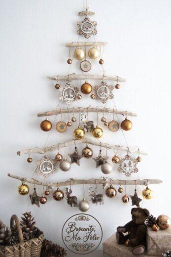 Driftwood Christmas tree