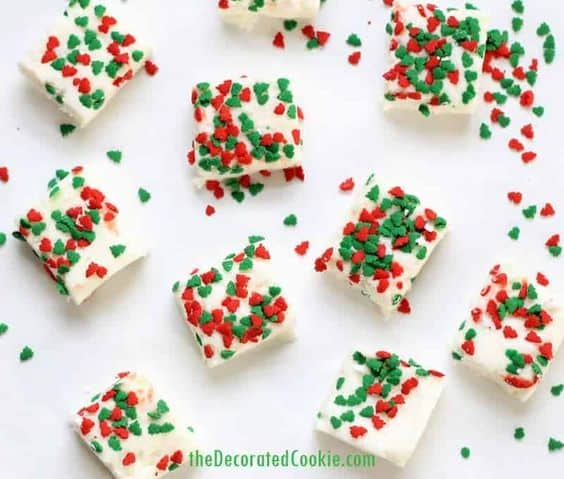 These fudges are quick, easy, only take 3 ingredients, and will make you merry. Perfect for Christmas appetizers, a last minute Christmas gift, Christmas parties, New Years, Eve, and even Birthdays.