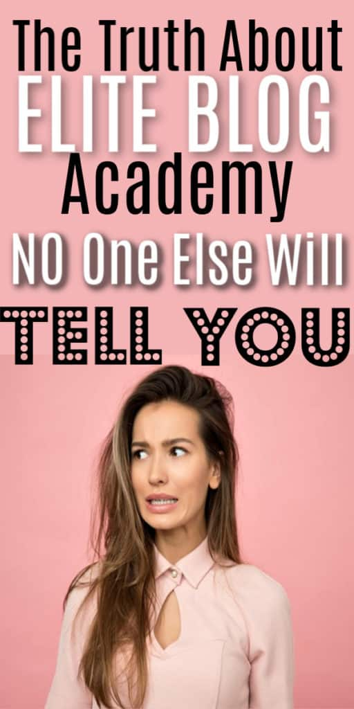An honest in depth review of Elite Blog Academy like no other. Includes everything you need to know about Elite Blog Academy and which course might be better for beginning bloggers