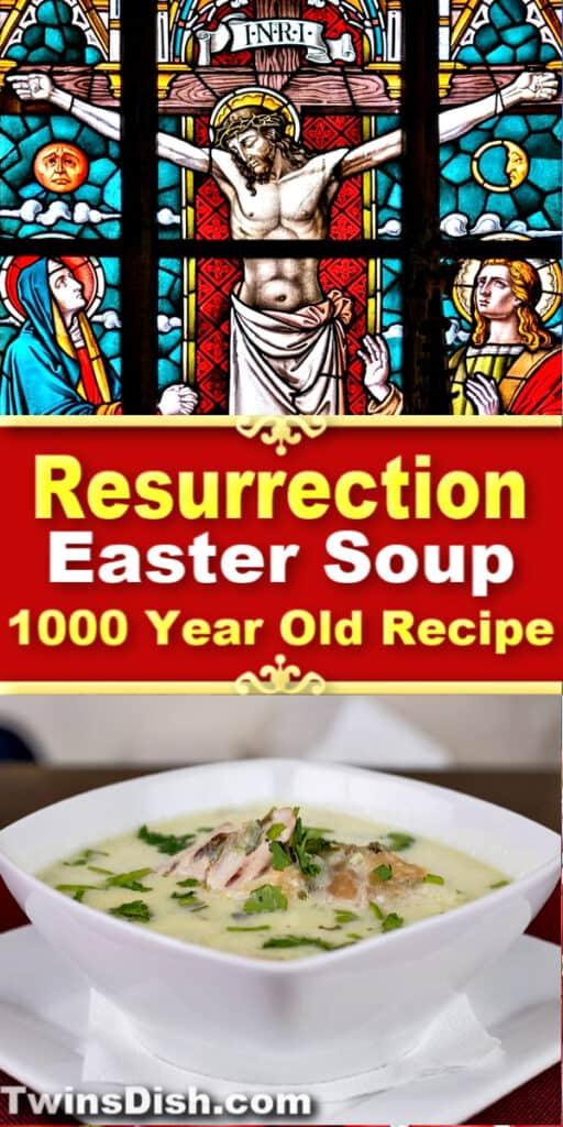 Best Traditional Christian Easter Dinner Recipe symbolizing the resurrection of Jesus. #GreekEaster #MediterraneanDietRecipes #ChickenRecipes #Christian
