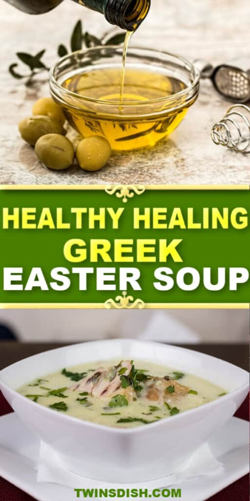 The Best healthy chicken soup recipe for clean eating. Low carb, fat burning, and immune boosting mediterranean diet recipe.