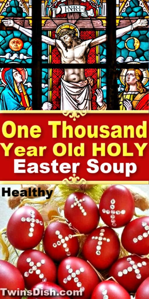 Healthy Holy ancient Greek Easter soup recipe.