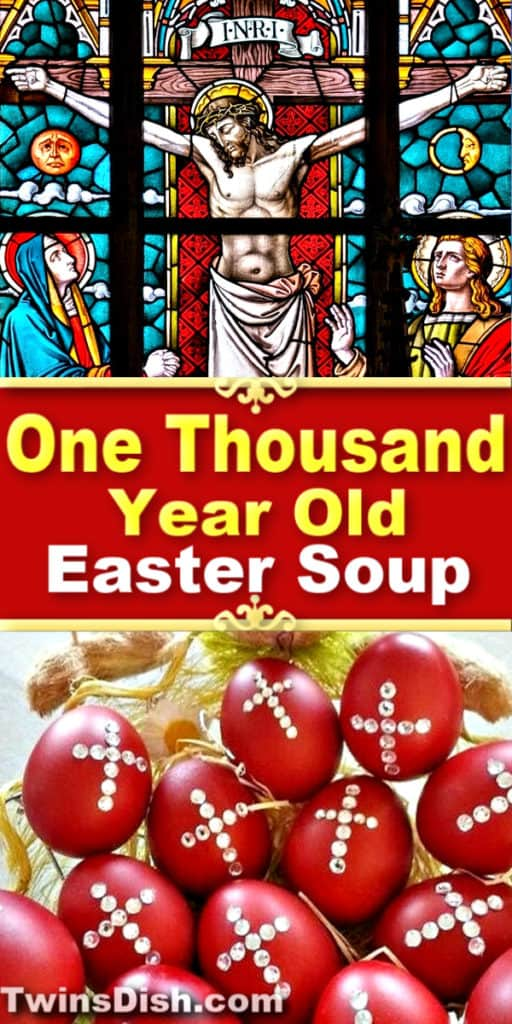 Sacred Ancient Greek Easter Soup Recipe. Healthy and delicious.